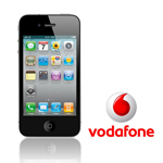 Unlock iPhone 4 Vodafone UK